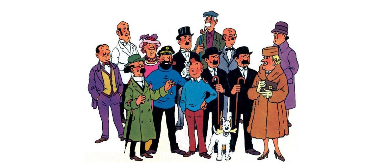 Tintin et Milou aux enchères