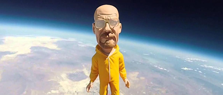 Breaking Bad : Walter White envoyé dans l'espace