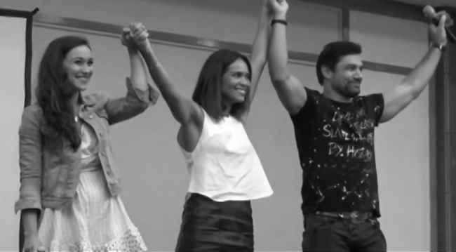 Convention Rebels Spartacus : Questions/Réponses avec Manu Bennett, Lesley-Ann Brandt et Jenna Lind