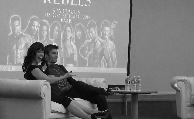 Convention Rebels Spartacus : questions/réponses avec Liam McIntyre et Erin Cummings
