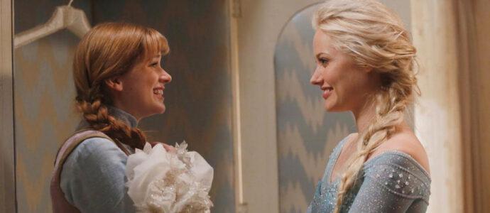 Once Upon A Time Saison 4 : les coulisses du tournage dévoilés par Georgina Haig et Elizabeth Lail