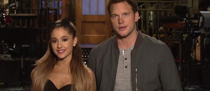 Saturday Night Live : Ariana Grande et Chris Pratt très drôles dans leur vidéo promo