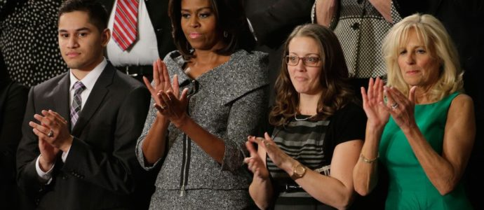Quand Michelle Obama s'habille comme Alicia Florrick (The Good Wife)