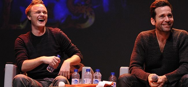 David Anders et Eion Bailey - Convention Fairy Tales