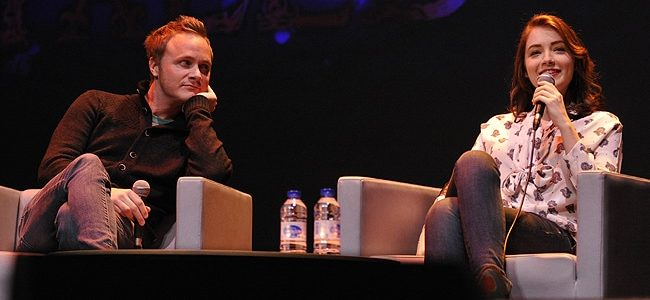 David Anders and Sarah Bolger - Fairy Tales Convention