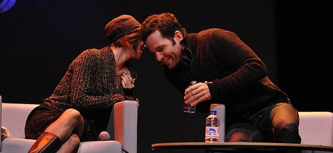 Keegan Connor Tracy and Eion Bailey - Fairy Tales Convention