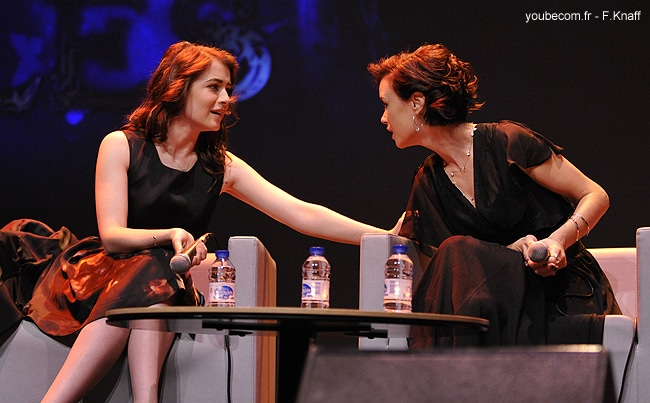 Keegan Connor Tracy and Sarah Bolger - Fairy Tales Convention