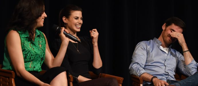 Lana Parrilla, Meghan Ory et Colin O'Donoghue - Convention Fairy Tales 3
