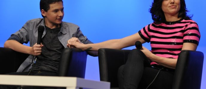 Jared S. Gilmore & Lana Parrilla - Convention Fairy Tales 2