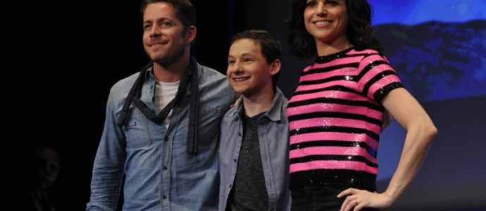 Sean Maguire, Jared S. Gilmore and Lana Parrilla - Fairy Tales 2 Convention