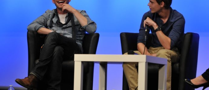 Convention Once Upon A Time : questions - réponses avec Robbie Kay et Sean Maguire à Fairy Tales 2