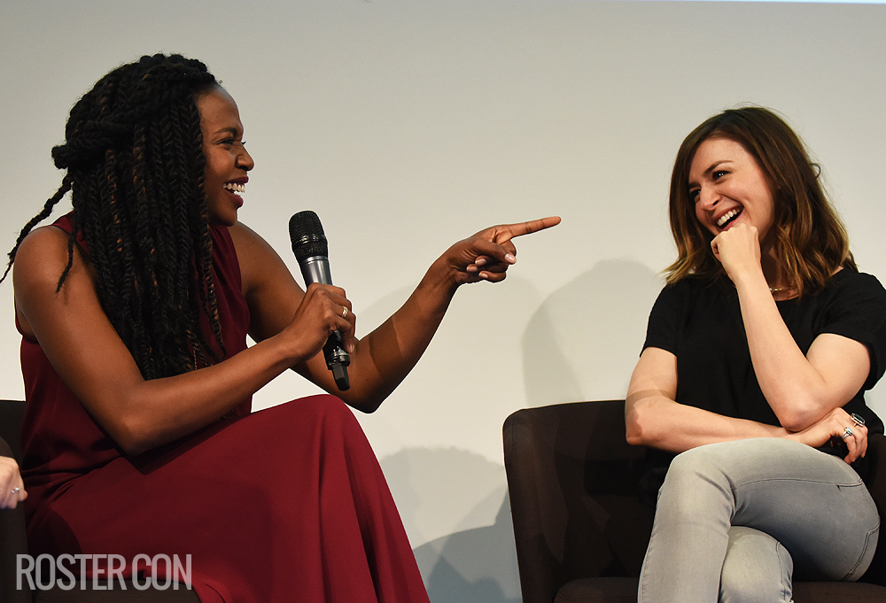 Grey's Con - Jerrika Hinton and Caterina Scorsone