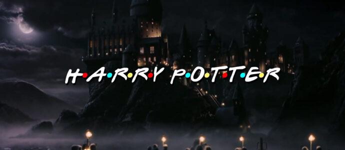 Quand les personnages d'Harry Potter s'incrustent sur le générique de Friends