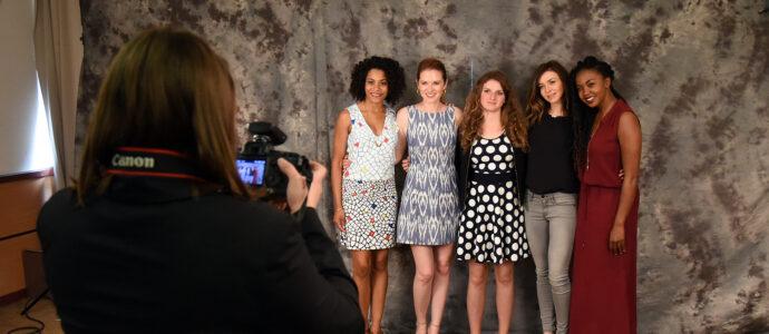 Photoshoot Kelly McCreary, Sarah Drew, Caterina Scorsone et Jerrika Hinton - Convention GreysCon Heart to Heart