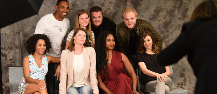 Photoshoot Kelly McCreary, Jason George, Steven W. Bailey, Joe Adler, Caterina Scorsone and Jerrika Hinton - GreysCon