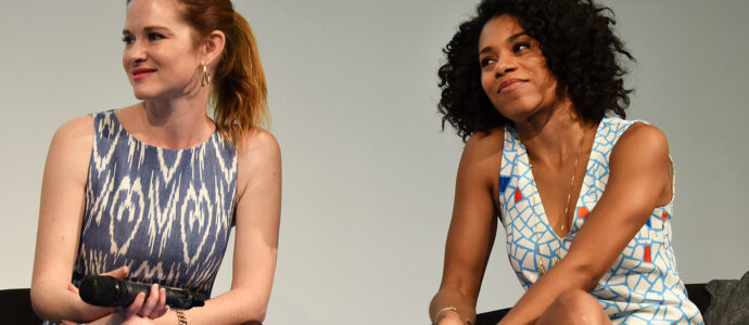Sarah Drew and Kelly McCreary - GreysCon