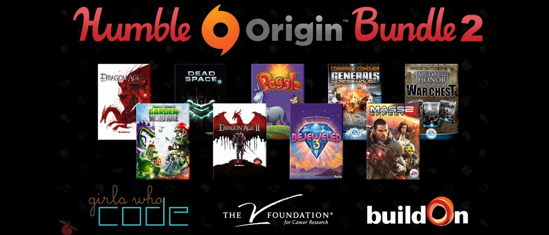 Humble Origin Bundle 2 : achetez des jeux pour la bonne cause