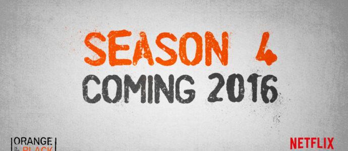Orange Is The New Black  : la série est renouvelée pour une saison 4