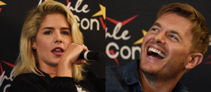 Emily Bett Rickards et Rick Cosnett seront à la Super Heroes Con