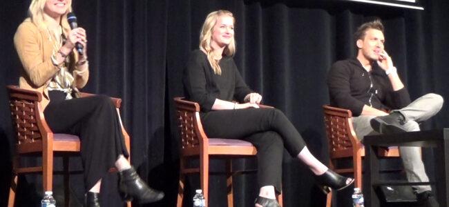 Convention Fairy Tales  : Questions - Réponses avec Scott Michael Foster, Elizabeth Lail et Georgina Haig