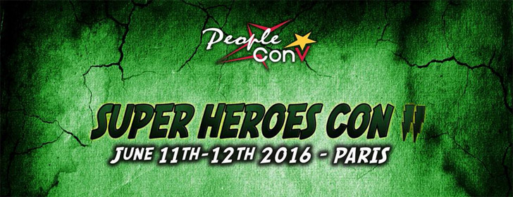 Ouverture de la billetterie pour la Super Heroes Con 2