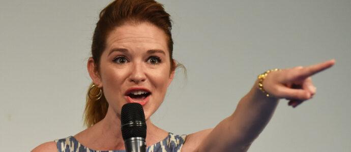 Sarah Drew : « Je veux voir April se battre pour son mariage, je veux vraiment qu'elle soit concernée par ça plus que par quoi que ce soit d'autre »