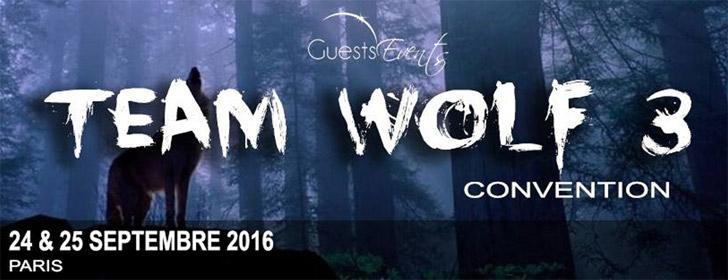 Team Wolf 3 les 24 & 25 Septembre 2016
