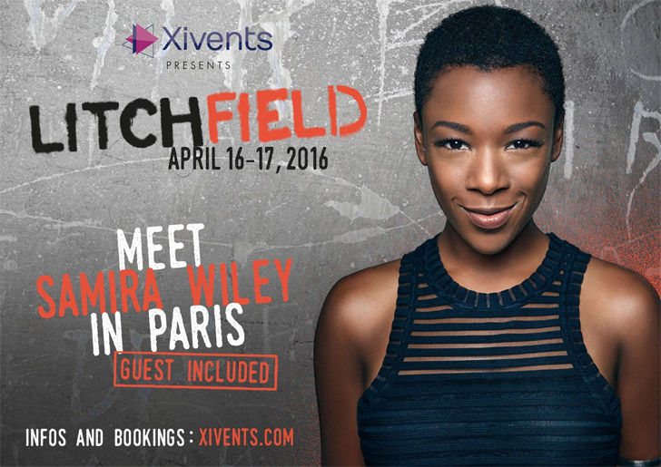 Samira Wiley (Poussey) à la convention Orange Is The New Black