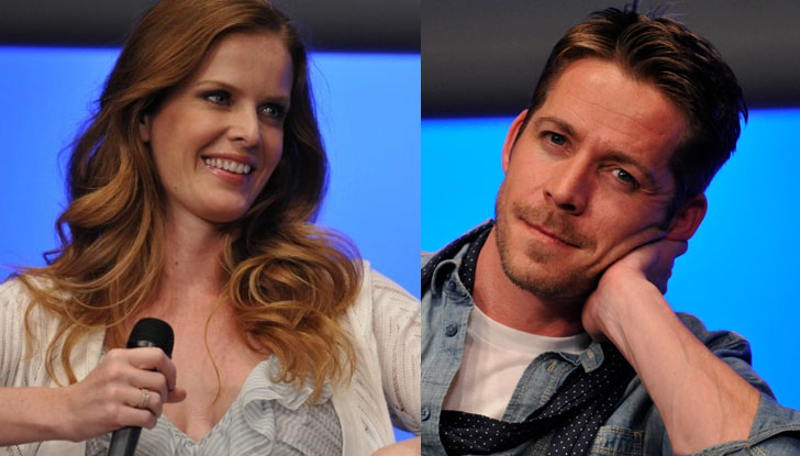 Rebecca Mader et Sean Maguire à la convention Fairy Tales 4