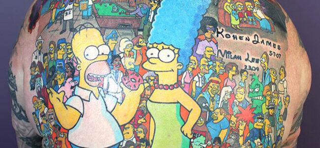Record : ce fan a les Simpson dans la peau