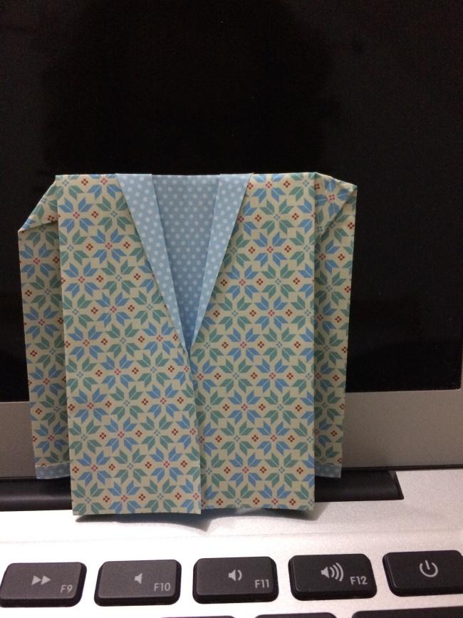 Tuto DIY : Veste de costume origami