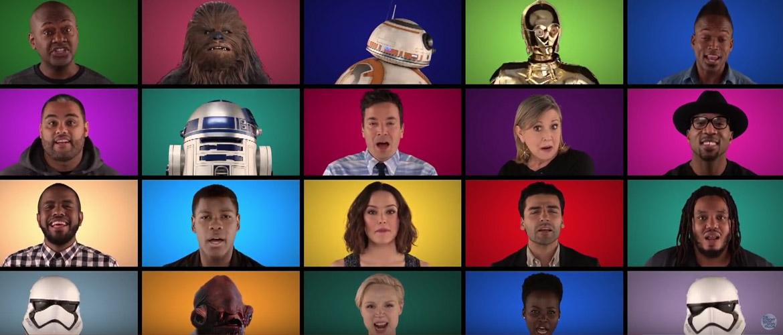 Star Wars : les acteurs chantent a capella les différentes musiques des films