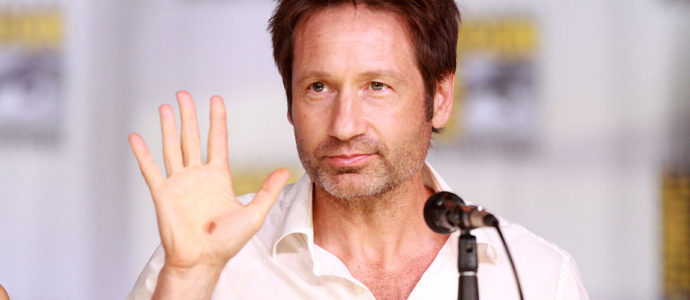 David Duchovny, nouvelle étoile du Hollywood Walk of Fame