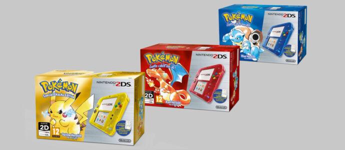 Nintendo : des packs 2DS et 3DS Pokemon annoncés pour l'Europe