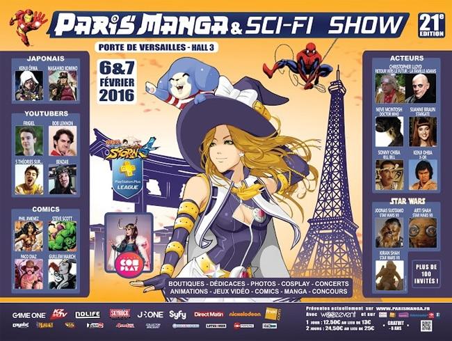 Paris Manga & Sci-Fi Show : le point sur la programmation jeux vidéo