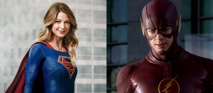 Un crossover entre les séries The Flash et Supergirl annoncé sur CBS