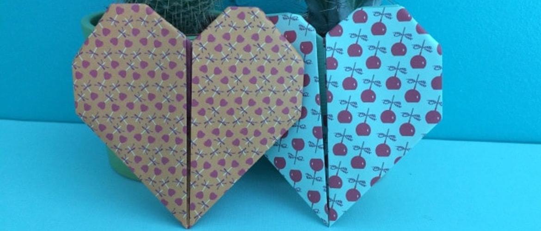 DIY : coeur origami
