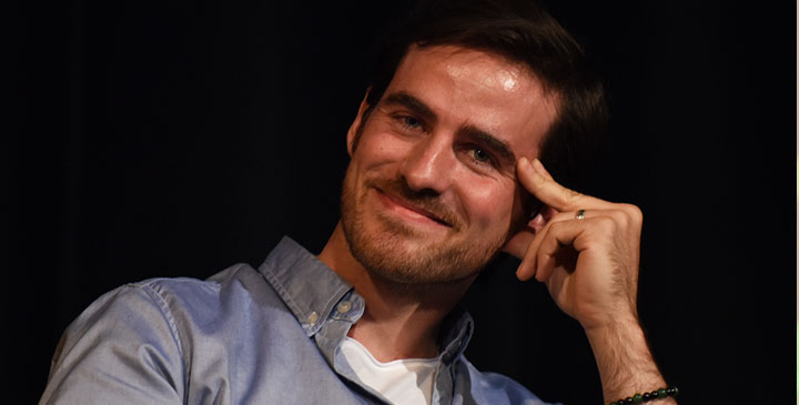 Convention Once Upon A Time : Colin O'Donoghue à la Fairy Tales 4