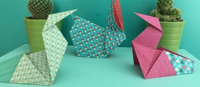 Tuto DIY : Poule en origami 2