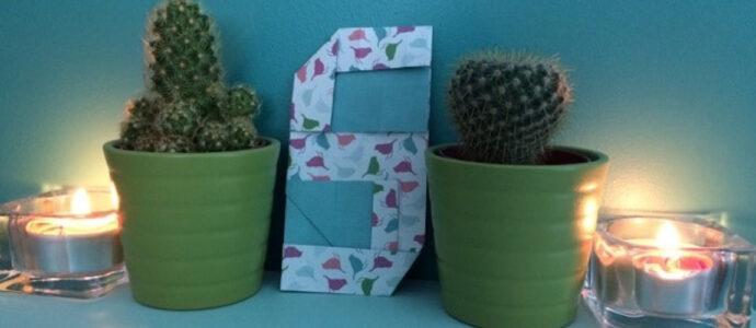 """Easter DIY : lettre """"S"""" en origami"""