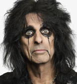 TV / Movie convention with Alice Cooper