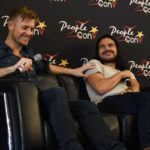 Rick Cosnett and Carlos Valdes - Q&A Super Heroes Con 2 - photo : Roster Con / Youbecom