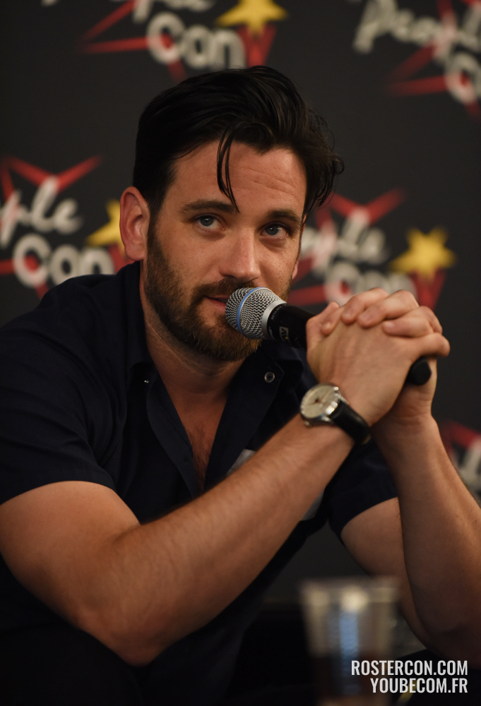 Colin Donnell - Panel Super Heroes Con 2 - photo : Roster Con / Youbecom