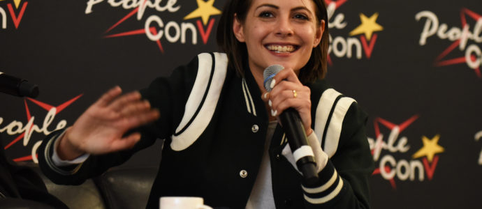 Willa Holland - panel Super Heroes Con 2 - photo : Roster Con / Youbecom