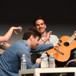 Rebecca Mader, Colin O'Donoghue et Liam Garrigan - Convention Fairy Tales - Photo : Roster Con / Youbecom