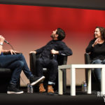 Amy Manson, Sean Maguire et Liam Garrigan - convention Fairy Tales - Photo : Roster Con / Youbecom