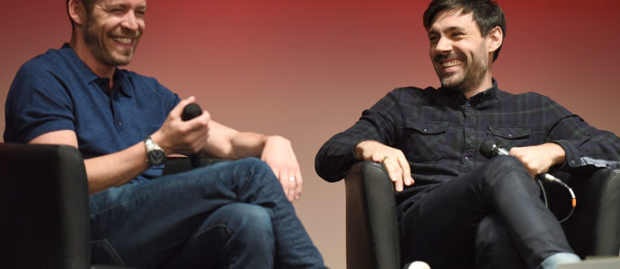 Sean Maguire et Liam Garrigan - convention Fairy Tales - Photo : Roster Con / Youbecom