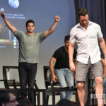 The Full Moon Is Coming Back Again - Ian Bohen, Max Carver & Charlie Carver - Photo : Rostercon.com / Youbecom.fr