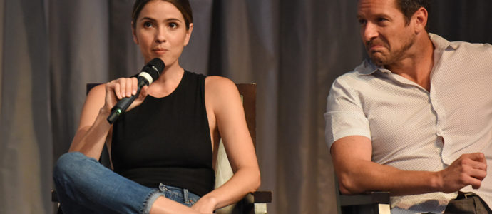 The Full Moon Is Coming Back Again - Shelley Hennig & Ian Bohen - Photo : Rostercon.com / Youbecom.fr