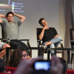 The Full Moon Is Coming Back Again - Ryan Kelley, Max Carver, Charlie Carver & Ian Bohen - Photo : Rostercon.com / Youbecom.fr